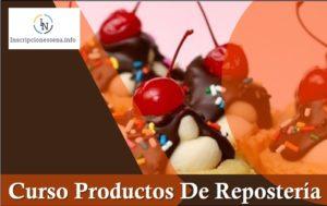 Especialización Curso Productos De Repostería